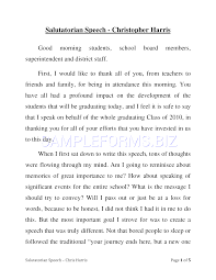 Salutatorian Speech Examples Preview PDF Salutatorian Speech Example 24 1