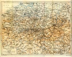 free maps of belgium