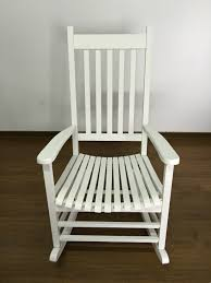white wooden rocking chair. modern wood rocking chair wooden furniture presidential rocker white finish indoor/outdoor/balcony porch garden adult armchair-in living room chairs from