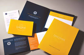 Six Panel Brochure The Collateral Package Included Letterhead Pocket Folder Six Panel