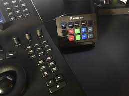 the el gato stream deck makes a great companion to any control surface in my home setup i m using it with blackmagic resolve mini panel