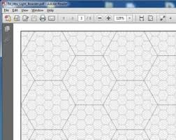 Hexagon Graph Paper Pdf - Tier.brianhenry.co
