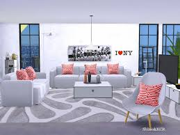 modern loft furniture. Modern Loft Furniture Scandinavian Style Found In TSR Category \u0027Sims 4 Living Room Sets\u0027