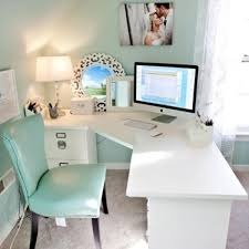 feminine home office. Feminine Style Home Workplace Decor Pinkous Office E