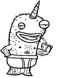 Small Picture Nick Narwhal Coloring Page NetArt