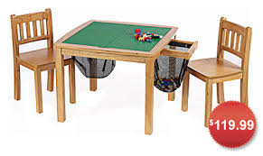wooden lego table ideas inside with chairs plan 2