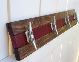 Boat Cleat Coat Rack Boat Cleat Coat Racks Willis Wood Designs LLC 1