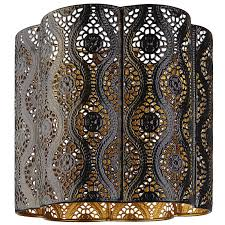 moroccan inspired lighting. Fancy Moroccan Style Lamp Shades In Homemade Paper Good Looking Lampeel Vendre Vintage Lampen Lampshade Hats Inspired Lighting C