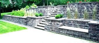 cement retaining wall retaining wall blocks retaining wall on a slope installing retaining wall blocks on