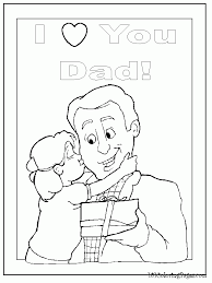 There are 326 daddy coloring for sale on etsy, and they cost $5.46 on average. I Love My Daddy Coloring Pages Coloring Home