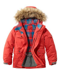 best kids coats for winter maine mountain parka by l l bean
