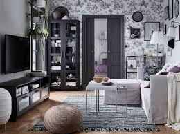ikea black furniture. IKEA BRIMNES Black Tv Bench And Shelving Storage Cabinets Create A Sleek  Modern Living Room Look Ikea Furniture N