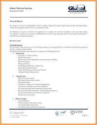 Company Profile Sample Download Cool Company Business Profile Sample Puebladigitalnet