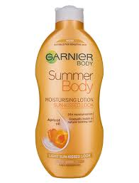 Tanning Moisturiser Care Summer Body Gradual Light Garnier