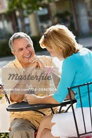 Mature Couple Outdoors - Stock Photo - Masterfile - Rights-Managed, Artist: Marc  Vaughn, Code: 700-00867004