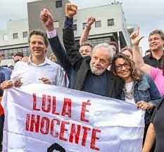 Se existe uma quadrilha no Brasil é liderada pela Rede Globo de Televisão,  diz Lula; íntegra do primeiro discurso - Viomundo