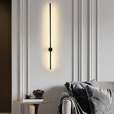 modern led linear wall light long strip