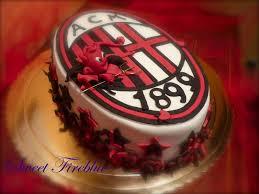 Torta milanista le torte per i tifosi rossoneri
