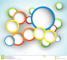 Abstract Circle Design stock vector Image of creative