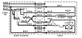 broan bathroom fan wiring diagram broan image nutone exhaust fan wiring diagram wiring diagram on broan bathroom fan wiring diagram