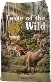 Taste Of The Wild Pine Forest Grain Free Dry Dog Food 5 Lb Bag