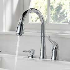 Delta Kitchen Faucet Handle Delta Kate Single Handle Deck Mounted Kitchen Faucet With Soap