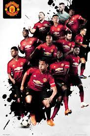 Kaufe Manchester United Players 18/19 Maxi Poster