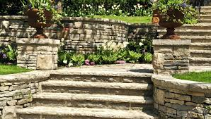 how to make a stone garden wall stone garden retaining walls can be made from natural