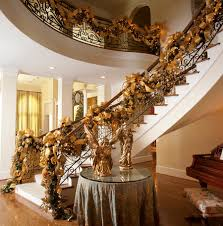 Christmas Decorating 23 Gorgeous Christmas Staircase Decorating Ideas