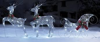 reindeer and sleigh led outside light set 19 99 studio expired