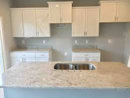 custom installation of colonial white granite countertops in this vangogh craftsman style masterpiece a most beautiful and one of our newest additions to