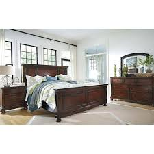 ashley traditional bedroom furniture. Contemporary Furniture Porter King Panel Bed With Ashley Traditional Bedroom Furniture D