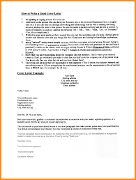 15 Writing A Great Cover Letter Agenda Example