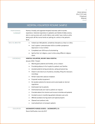 10 Resume Template With Volunteer Experience Resume Cover Note