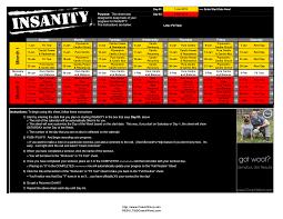insanity workout schedule pdf calendar allworkoutroutines