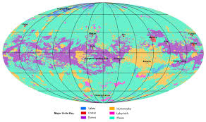 Sky Lakes My Chart First Global Geological Map Of Saturns Moon Titan Released