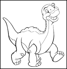 Small Picture Color page Little Foot land before time party Clipart library