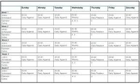 Calendar Generator Excel Rotating Shift Calendar Generator Template Definition Biology