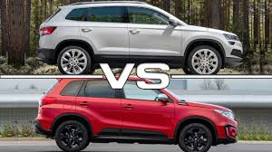 2018 suzuki vitara. interesting 2018 2018 skoda karoq vs 2017 suzuki vitara for suzuki vitara
