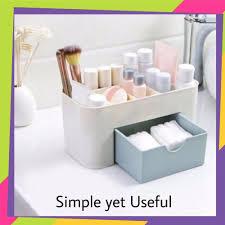 msia makeup storage box cosmetic case lipstick case remote control case desktop organizer
