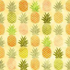 Fruit Pattern Beauteous Watercolor Pineapple Seamless Pattern Taste Fruit Background