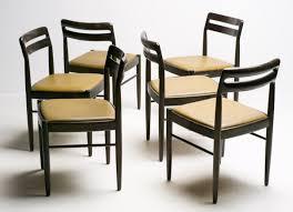 Danish Design Furniture Cheap Set Of Six Danish Design Chairs By H W Klein For Bramin