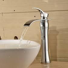 Einhebel Waschtischarmaturen Wasserfall Wasserhahn Armatur Für
