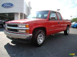 1994 Victory Red Chevrolet C/K C1500 Extended Cab #11412294 Photo ...