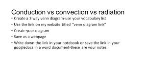 conduction convection radiation venn diagram. 15 conduction vs convection radiation venn diagram