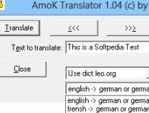 Translate leo