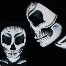 get the look how to create y skull makeup tutorial beauty beauty world news apply