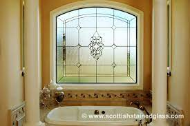 Stained Glass Bathroom Windows Privacy And Beauty Custom Stained Glass