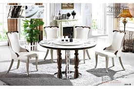 5 seater dining table image image zoom natural round marble dining table 5 chair