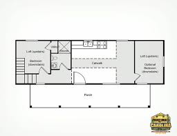 9 best tiny house images on deluxe lofted barn cabin floor plan